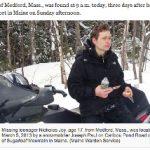 行方不明のティーンスキーヤーは雪洞に逃れた、マサチューセッツ州 海外ニュース、Mar 5, 2013 5:08pm