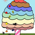 アイフォンアプリの無料ミニゲーム「フルーツ打」を公開しました。