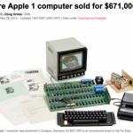初代アップル1が約67万ドル(約6700万円)|メリーランド州で、15両の貨物列車が脱線し、一人がけが