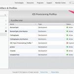アイフォン・アイパッドデバイス端末のiOS Dev Centerへの追加登録手順メモ