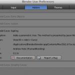 Blender 2.67 でのAdd Tree設定は、ユーザー設定で、Add Curve:Saplingをチェックする