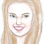 毎日描け、女性顔イラスト似顔絵、ナタリー・ポートマンだが別人になる|グーグル キーワード「 http://www.google.co.jp/url?sa=」と「http://www.google.co.jp/search?q=」の違いは?