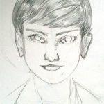 """毎日描け、女性顔イラスト Bruno Mars """"Marry You"""" 、「結婚しようよ」、プロポーズ、ユーチューブ動画 ソフトパステルRembrandt(レンブラント)を使ってみた感想"""