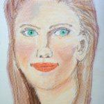 HULUで見放題2月よりグリー・シーズン3とドクターハウス・シーズン7、そしてパーソン・オブ・インタレストのシーズン1が始まる|キャプテン・アメリカ ウィンター・ソルジャー予告動画、毎日描け、イラスト、スカーレット・ヨハンソンの似顔絵