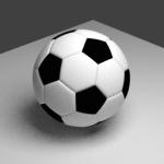 3DCG爆発アニメーションの作り方、3DCGのサッカーボールの作り方、ダウンロードあり|rigidbodyにアニメ付け(A点からB点への移動) BY blender 2.7.2