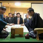 将棋第64期王将戦 渡辺王将VS郷田九段、第五局 勝敗は渡辺王将の勝ちで3勝2敗 2015年3月13日