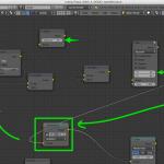特撮映像の作り方、CG実写合成、モーショントラッキングの設定|モーショントラッキングポイント(マーク)の消去ノード設定 blender2.7.2