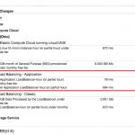 AWS Elastic Load Balancing で請求書が届いたので解除した。