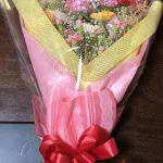 花束誕生日に送った。値段は3000円