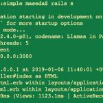 rails学習 Mac にてユーザを登録するだけの簡単Railsアプリの勉強
