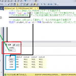 SQLSERVER テーブルに存在しない列を作ってデータを表示する